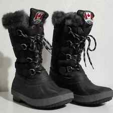 Pajar Canada Winter Boots - Black - Women Size US 8W / EUR38/9
