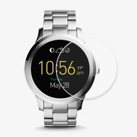 2pcs Tempered Glass Protective Films Guard Cover for Fossil Q Wander Smart Watch