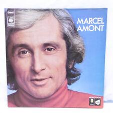 """33T Marcel AMONT Vinyle LP 12"""" L'AMOUR A VOL D'OISEAU -C'EST LE MONDE -CBS 65361"""