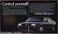 1985 VOLKSWAGEN JETTA 2-page ad, VW Jetta GLI, big photo