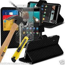 Leather Wallet Quality Phone Case✔Glass Screen Protector✔OnePlus 6