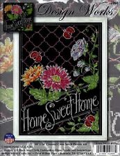 HOME SWEET HOME CROSS STITCH KIT by DESIGN WORKS CRAFTS