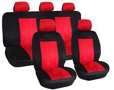 Autositzbezüge SET Autoschonbezüge ROT passend für Ford Kuga II Renault Kadjar