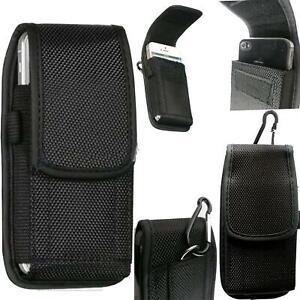 Universal Nylon Hook Belt Pouch Case Cover Holster Fasten Bag For Mobile Phones