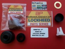 "SSB703  NEW LOCKHEED MASTER CYLINDER KIT .7"" BORE"