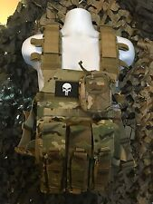 "Condor Multicam Sentry AR500 Certified Level III Steel 10""x12"" Plates & Molle"