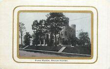 Park Manor @ Hollis Street~Battlement Turrets~Double Gold Rink-Shaped Border