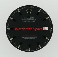 Original Men's Rolex Datejust Turn-O-Graph 116264 Gloss Black Stick Dial SS #A44