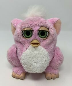 Furby Baby 2005 Pink White 59961 Hasbro Tiger Electronics WORKING - RARE - READ