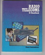 1987  Radio  Telecoms IC Handbook 200  pages , Plessey Semiconductors / b8