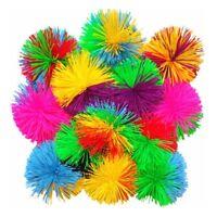 6pcs Colorful Silicone Koosh Ball Stress Relief Fluffy Sensory Koosh Ball