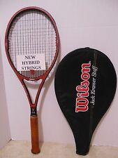 Wilson Jack Kramer Staff St. Vincent Tennis Racquet 4 1/2 - NEW STRINGS