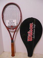 New listing Wilson Jack Kramer Staff St. Vincent Tennis Racquet 4 1/2 - NEW STRINGS