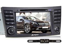 "7"" Autoradio DVD GPS Navi Player für Mercedes Benz E Klasse W219 W211 3G+Kamera"