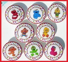 8 SESAME STREET BEGINNINGS ABC DRESSER DRAWER  KNOBS KIDS MADE AS ORDERED