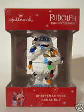 Hallmark 2015 Abominable Snowman Wrapped Up Rudolph The Red Nosed Reindeer New
