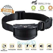 New listing Rechargeable Anti Barking E-Collar No Bark Dog Training Shock Collar for Dog