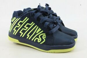 Heelys Big Kid Boys' Black/White Split Sneaker 2M