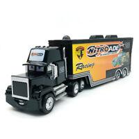 Pixar Cars Racing Nitroade No.28 Mack Diecast Loose Truck Model Hauler Kids Toy