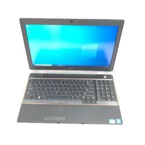 """Dell Latitude E6520 15.6"""" Core i7 2760QM 2.4GHz 8GB RAM 512GB SSD Win 10 Pro"""