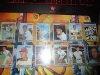 1970 Baseball 12 Card Lot Poor-VG