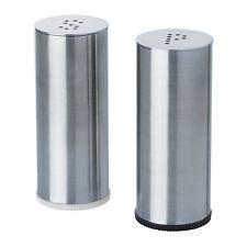 Salt and Pepper Shaker Set of 2  Stainless steel PLATS IKEA