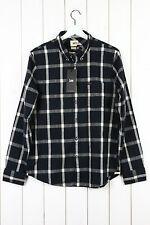 Camicie casual da uomo neri Lee