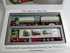 Set MAN TGX MAN F8 SET 75 JAHRE SPEDITION WANDT 1/87 Herpa 303606 Sattelzug LIM