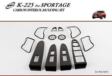 For Kia Sportage 2010 - 2014 Carbon Look Interior Styling Trim - LEFT HAND DRIVE