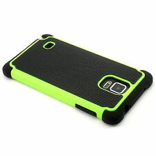 New Green Heavy Duty Protection Hard Case For Samsung Galaxy Note 4 N9100