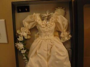 "Franklin Mint Princess Diana Wedding Gown Dress Ensemble 16/"" NEW"