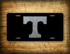 Tennessee BLACK & SILVER License Plate VOLS TN State Auto Tag Football Volunteer