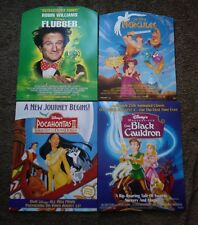 "lot of ""Disney Home Video"" 28"" by 22"" cardboard Pormo posters in near mint cond"