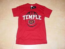 Ncaa Temple University Owls Football T-Shirt New. sz. Small