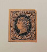 Spanish Stamps -- Spain 1864 SC65 (SCOTT 190 USD)