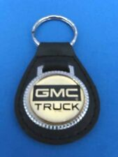 GMC TRUCKS  LEATHER KEYCHAIN KEY CHAIN RING FOB #060