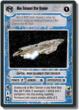 Mon Calamari Star Cruiser [Near Mint/Mint] DEATH STAR II star wars ccg swccg