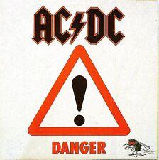"""AC/DC 7"""" VINYL DANGER POCHETTE POSTER ( POSTER SLEEVE ) - IMPORT UK"""