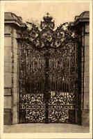 Würzburg Bayern alte Ansichtskarte ~1920/30 Partie am Hofgarten Tor ungelaufen
