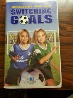 Switching Goals (VHS, 2000, Clam-shell) Mary Kate Olsen - Ashley Olsen
