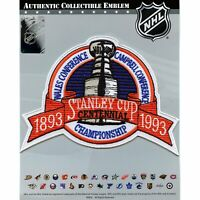1993 NHL Stanley Cup Logo Jersey Patch Los Angeles Kings Montreal Canadiens