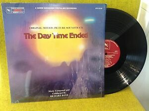 LP BO OST - THE DAY TIME ENDED - RICHARD BAND - VARESE SARABANDE - STV 81140