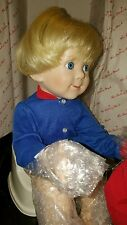 Elke Hutchens Brian Doll 1992 Danbury Mint ~ Big Boy Now Grown Up w/potty chair
