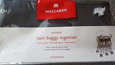 MACLAREN Universal Zwillingsbuggy-Organizer, Neu mit Ovp
