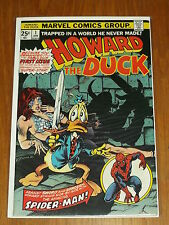 HOWARD THE DUCK #1 MARVEL COMICS VF (8.0) JANUARY 1976*