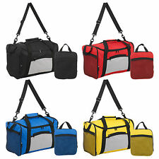Folding 40L Travel Sports Carry On Lightweight Duffel Holdall Luggage Carry Bag