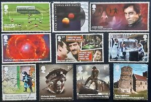 GB 2020 - 2021 10 Used Off Paper 1st SPACEFILLERS & SECONDS (10)