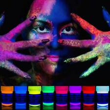 Neon Nights 8 x UV Body Paint Black Light Make-Up 5.5 fl oz Bodypainting  Face