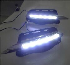 LED daytime running lights DRL with fog lamp cover for 2007~2010 BENZ W204 C300