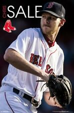 CHRIS SALE - BOSTON RED SOX POSTER - 22x34 - MLB BASEBALL 16509